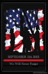 9-11 Firefighter Rememberance Poster