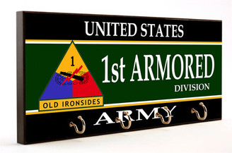 1st Armored Division U.S. Army Key Hanger