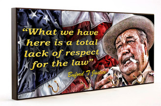 Buford T Justice Smokey and the Bandit Key Hanger