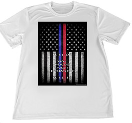 Twin Towers 9-11 2016 Remembrance T-Shirt S - XXL