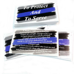 Police Officer's Prayer - To Protect And To Serve