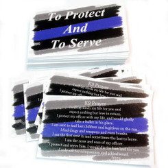 K9 Police Officer's Prayer - To Protect And To Serve