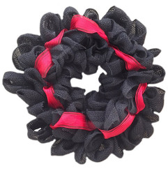 Thin Red Line Burlap Door Wreath For Fire & Rescue Support