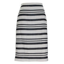 J. Crew Double-stripe pencil skirt Navy (4)