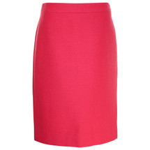 Pre-owned J. Crew No. 2 pencil skirt in double-serge wool item # 88707 Pink (4)