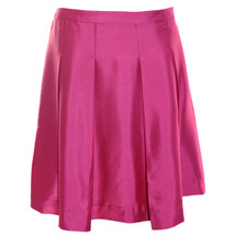 Pre-owned J. Crew Silk dupioni skirt Pink (4)