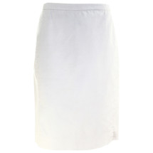 Pre-owned J. Crew No. 2 pencil skirt in cotton twill Ivory (4)