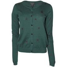 Pre-owned MAISON SCOTCH Cotton Star Cardigan Green (2)