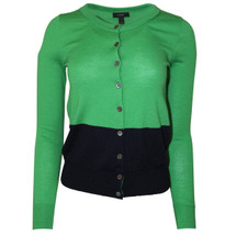 Pre-owned Tippi cardigan in colorblock Green/Navy (XS)