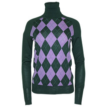 Pre-owned J. Crew JESTER TURTLENECK SWEATER Forest Green (S)