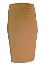 Pre-Owned Kamalikulture X Normakamali Sexy Pencil Skirt Nude (M)