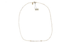 Marida Hammered 14K Gold Filled Horizon Necklace