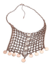 Free People Chainmail Collar Necklace
