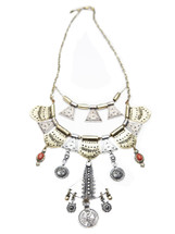 Free People Shield Layered Necklace