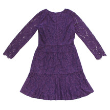 J CREW LONG-SLEEVE DRESS IN FLORAL LACE