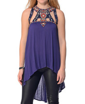 Free People Slub Jersey Vision Quest Tank Top