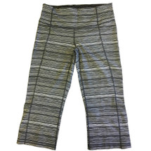 Lululemon Gather & Crow Crop II (Cyber Blk/Deep Coal)