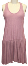 FREE PEOPLE Pink Around The World Tank Size Xsmall Dress
