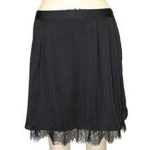 GAP Flare With Lace Detail Size 8 Msrp $ 78 Mini Skirt