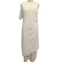 BOBI Bobi Ivory Matte One Size Medium $123 Dress Size: 8 (M)
