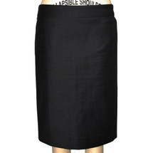 J.Crew No 2 Pencil In Double Serge Cotton Skirt MSRP $110 Size 4