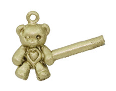 "1/2"" Teddy Bear With Heart"