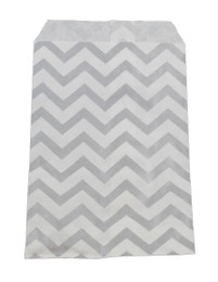 "Chevron Paper Gift Bags 7"" x 5"" Pack Of 100"