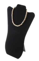 Large Necklace Easel Display Black
