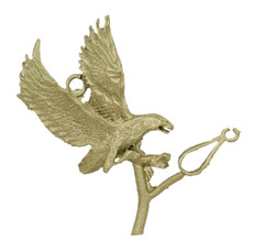 """1 1/4"""" Eagle & Bail"""