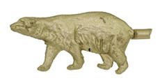 "3/4"" Polar Bear"
