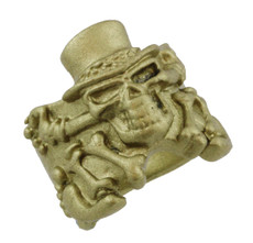 "3/4"" Top Hat Skull"