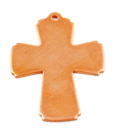 "1 3/8"" Copper Cross"