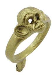 "3/8"" Monkey Face Ring"