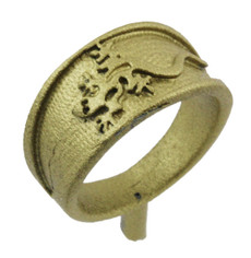 "3/8"" Gecko Ring Band"