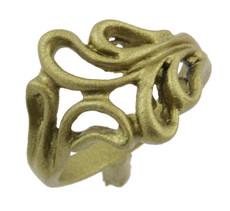 1/2 Swirls Ring