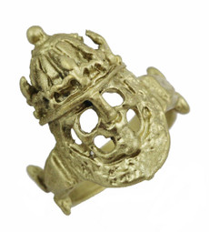 Skull with Crown