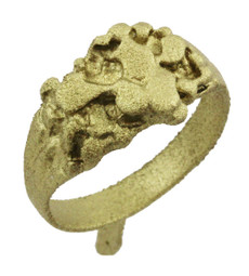 """3/8"""" Small Nugget Ring"""