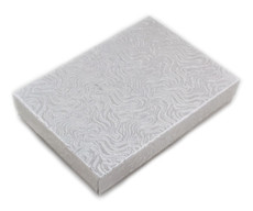 Silver Cotton Filled Box #53 (10 Boxes)