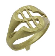 """1/2"""" Dollar Ring"""