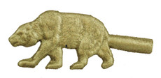 "1/2"" Walking Grizzly Bear"