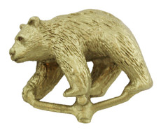 "1 1/8"" Walking Bear Figurine"