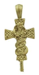 "1 1/2"" Cross with Snake"