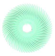 "3M Radial Bristle Disc 2"" Polish II, 1 Micron"
