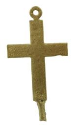 "1 1/4"" Flat Plain Cross"