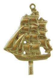 """1 1/8"""" Sailing Ship"""