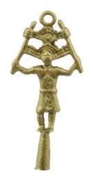 """1"""" Kachina Dancer Pendant"""