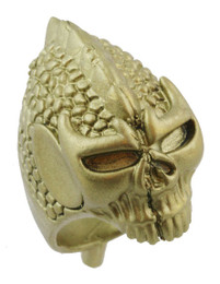 "1 3/8"" Skull in Battle Helmet"