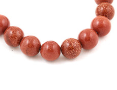 Goldstone Beads 10 MM