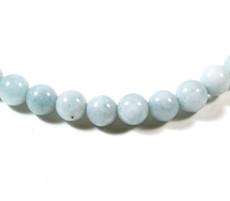 Aquamarine Beads 5.5 MM