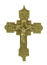 "1 7/8"" Double Cross Crucifix"